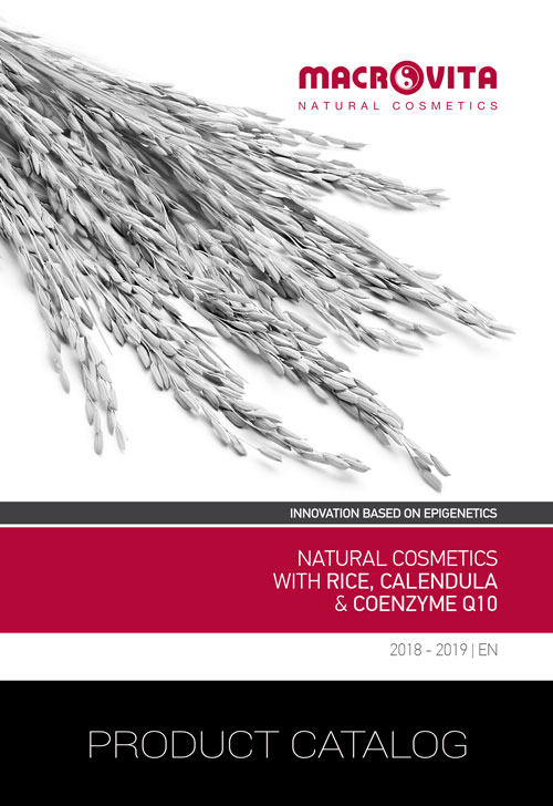 Natrual Cosmetics with Rice, Calendula & Coenzyme Q10